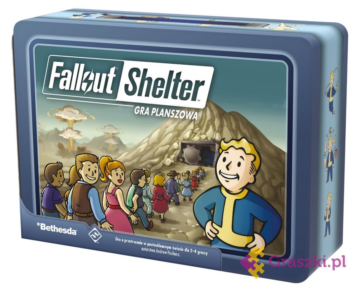 Fallout Shelter (edycja polska) // darmowa dostawa od 249.99 zł // wysyłka do 24 godzin! // odbiór osobisty w Opolu